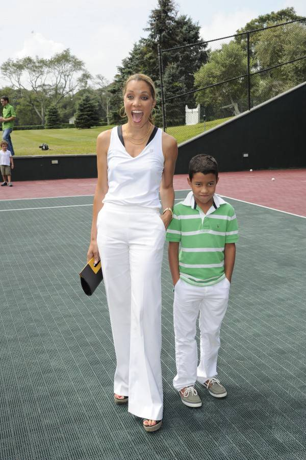 Michael Michele and Jay Brandon Rodriguez