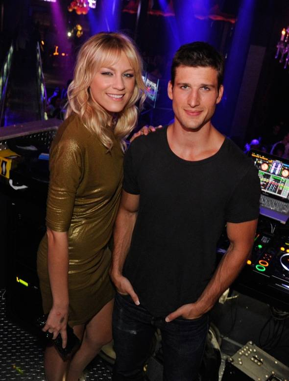 'Suburgatory' Star Parker Young Celebrates 24th Birthday At Chateau Nightclub In Las Vegas