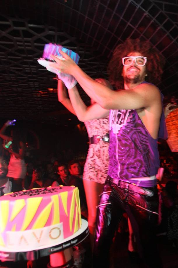 Redfoo birthday at LAVO