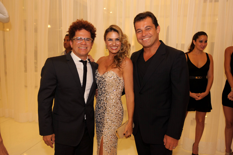 Romero Britto, Lais Bacchi, Paulo Bacchi1