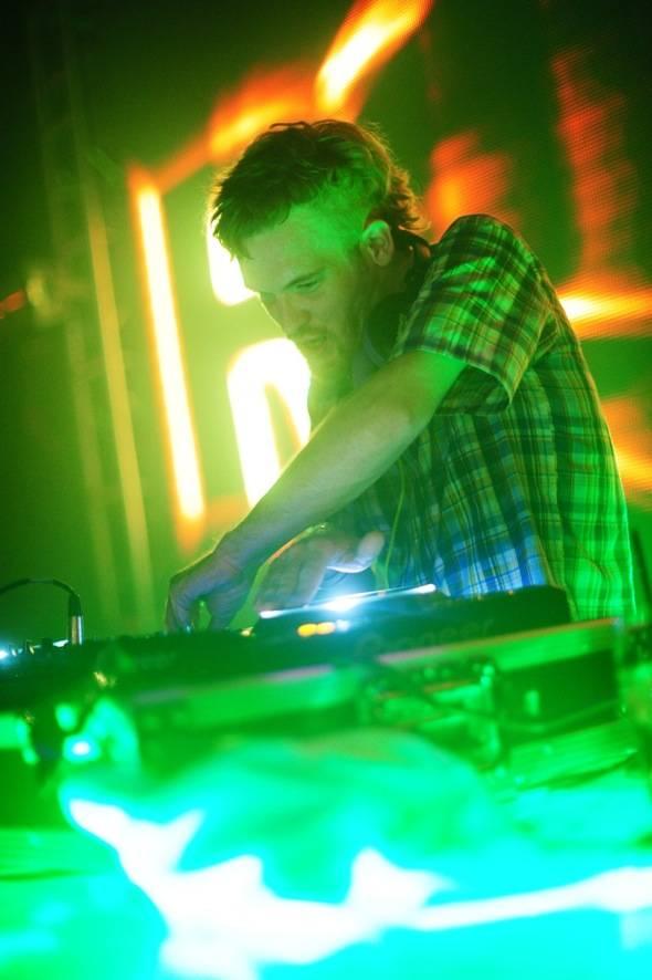 Rusko launches his Las Vegas residency at Rain Nightclub 8.4.12