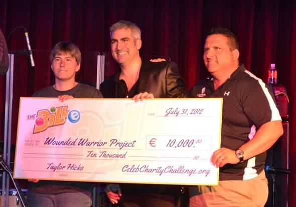 Taylor Hicks_Celeb Charity Challenge