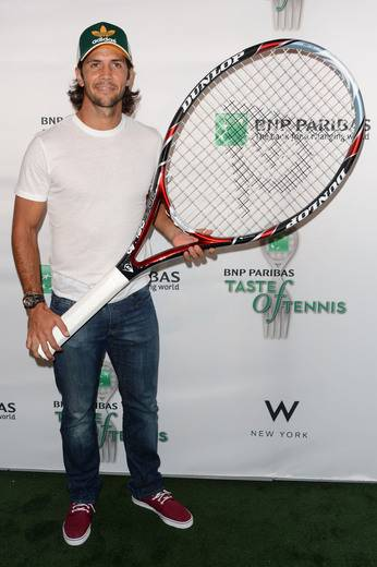 Tennis player Fernando Verdasco