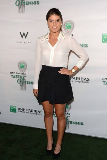 Tennis player Sorana Cirstea