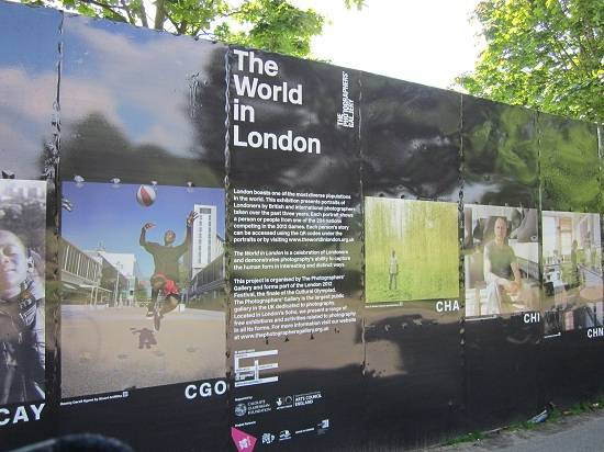 The World in London