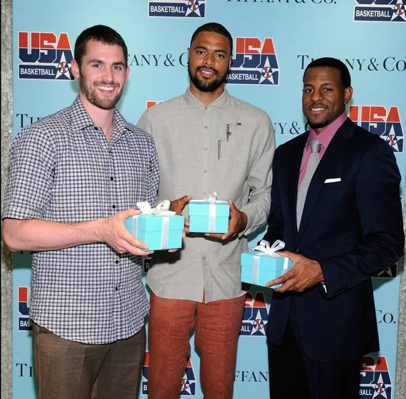 USA Basketball Visits Tiffany & Co. Inside The Forum Shops At Caesars