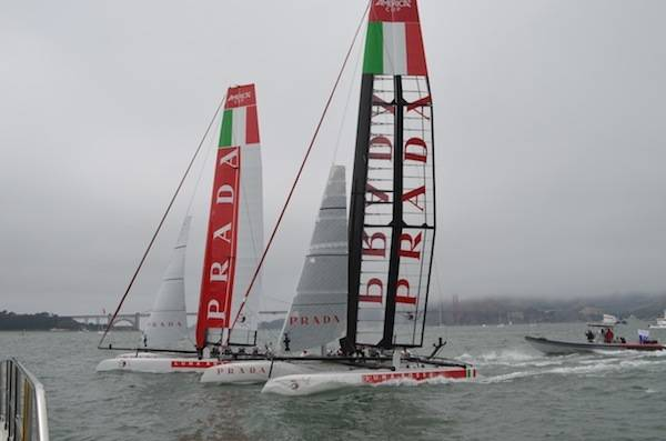 Two Prada Luna Rossa teams (2)