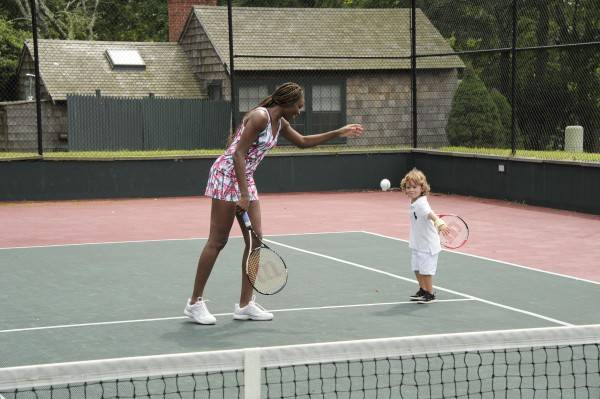Venus Williams and Lucas Bacardi Shriftman