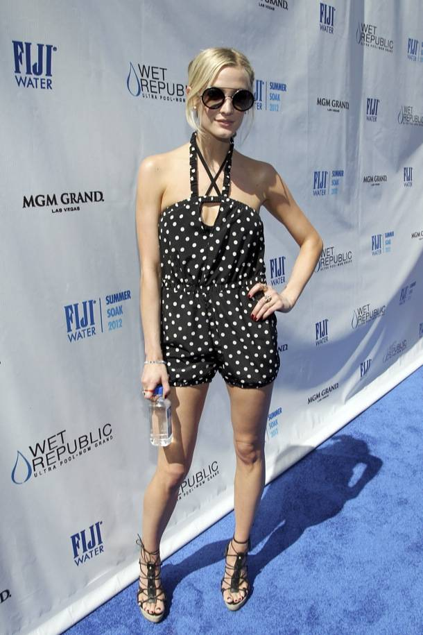 FIJI Water Summer Soak Las Vegas Hosted By Ashlee Simpson