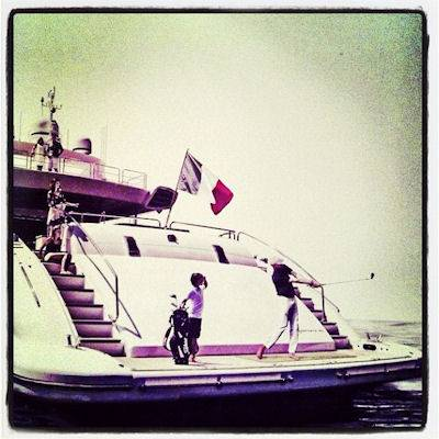 Yacht Golfing