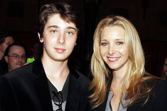 Lisa Kudrow & son