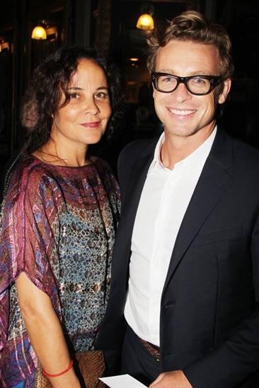 Rebecca Rigg & Simon Baker