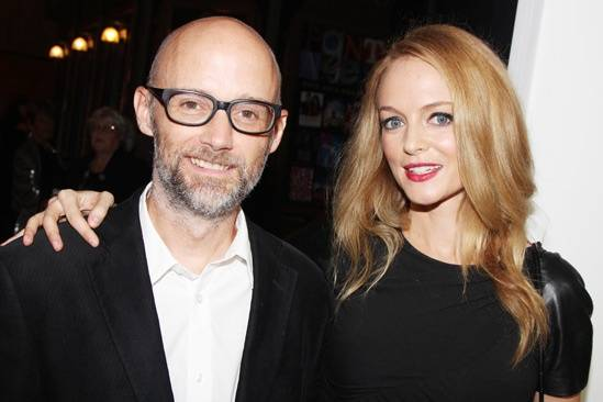 Moby & Heather Graham