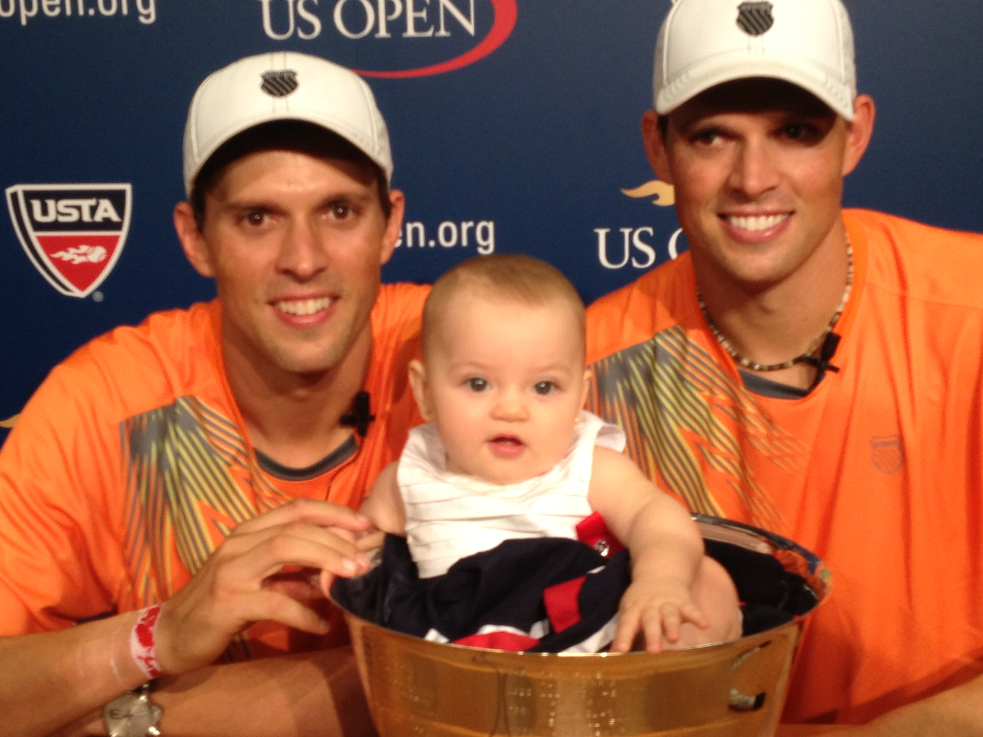 Bryan Brothers with little