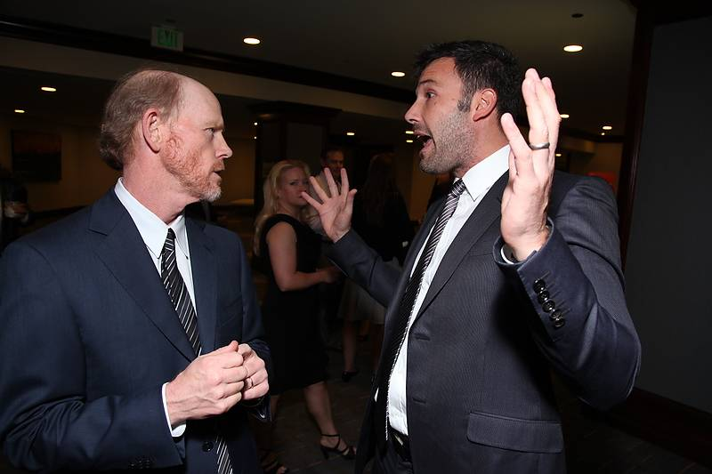 Ron Howard, Ben Affleck