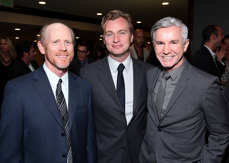 Ron Howard, Christopher Nolan, Baz Luhrmann