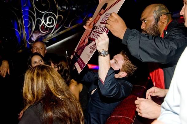 Canelo Alvarez_Signing_LAX Nightclub