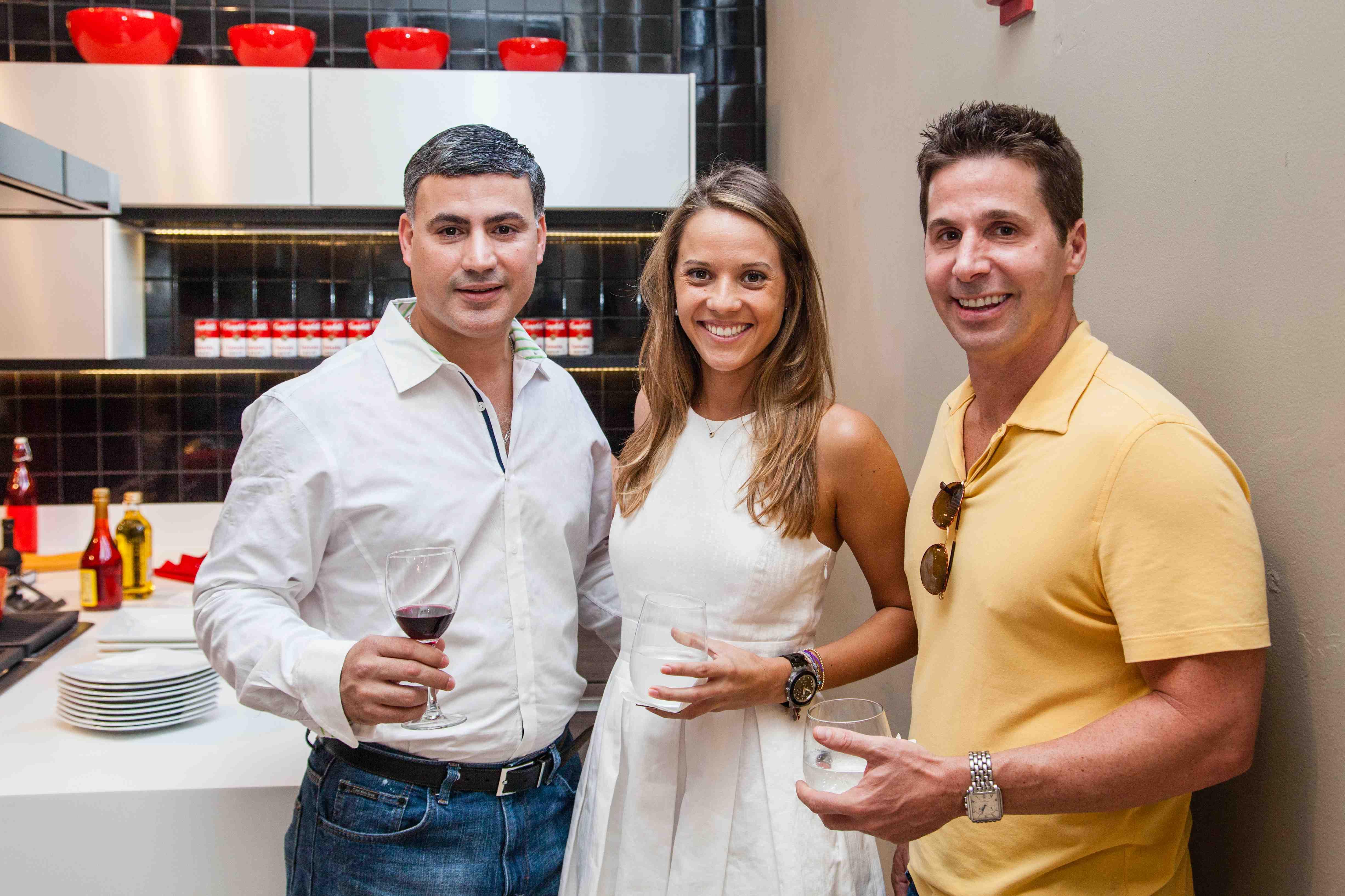 Carlos Sardina, Maria Clara Suffredini and Seth Cohen.LOW[2][4]