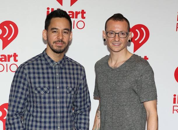Mike Shionda and Chester Bennington of Linkin Park