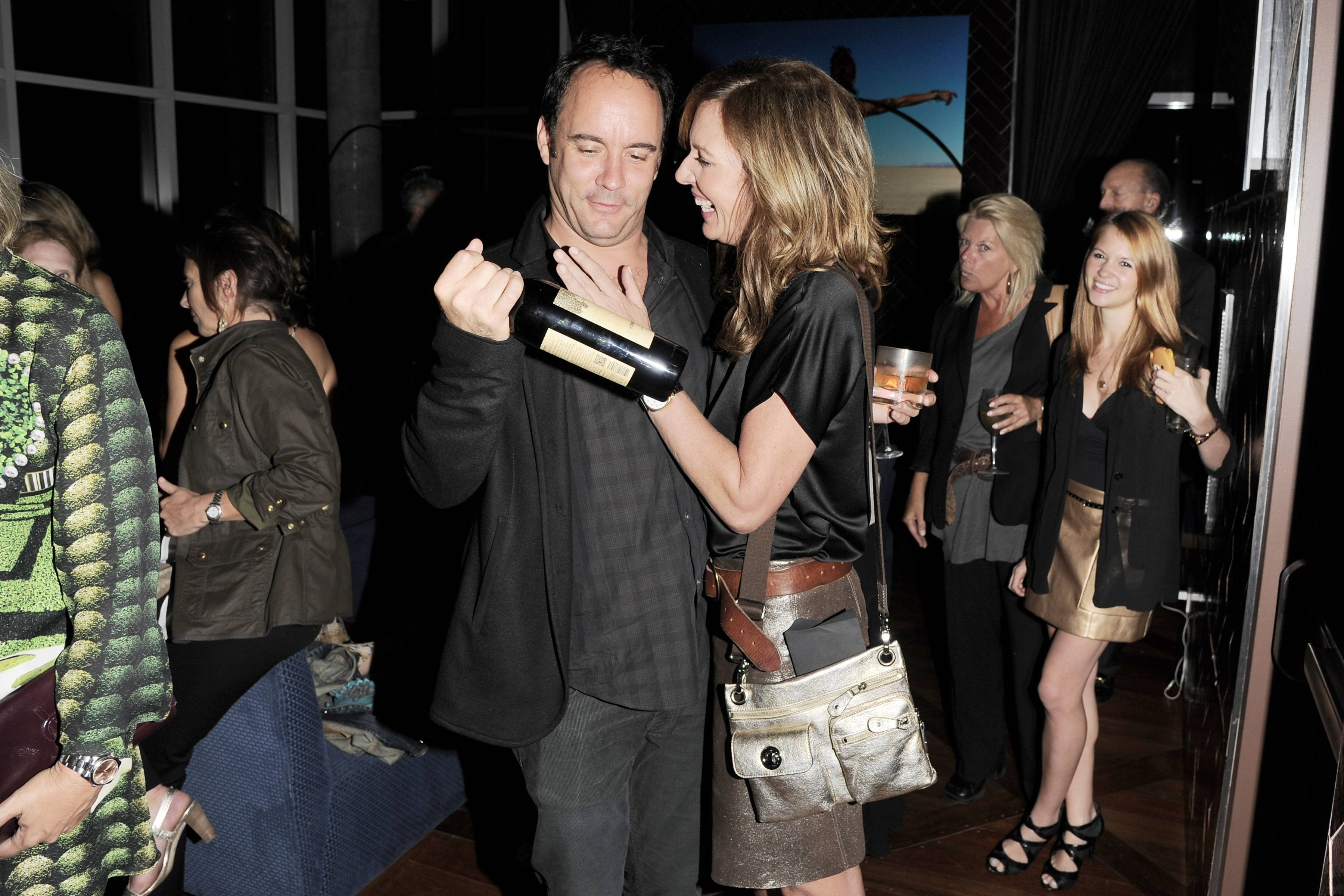 Dave Matthews (With His New Wine Dreaming Tree), Allison Janney