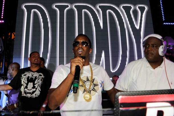 "Diddy Hosts ""The Sexiest Party In The City"" Labor Day Weekend At Chateau Nightclub & Gardens In las Vegas"
