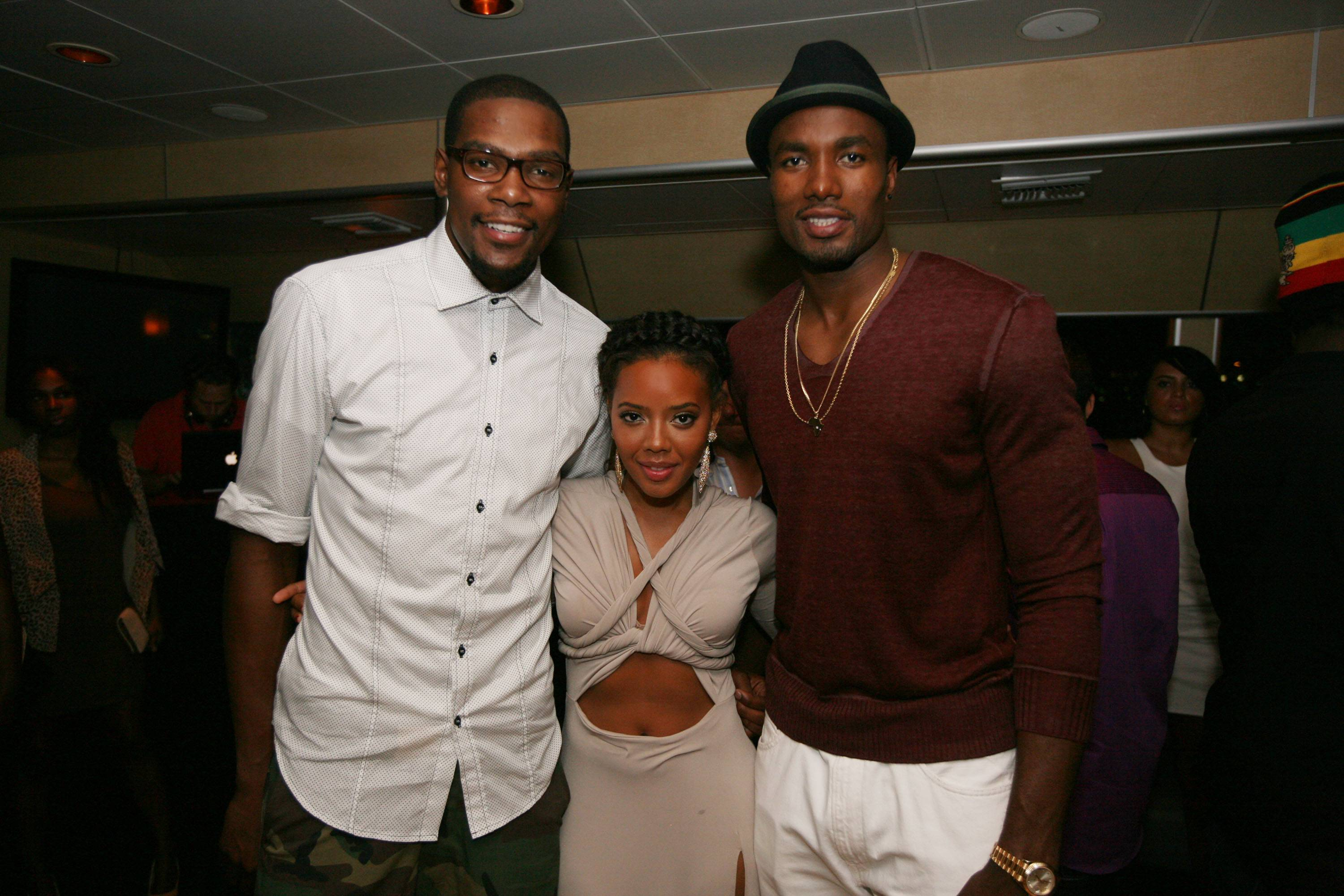 Photo of Serge Ibaka & his friend  Kevin Durant
