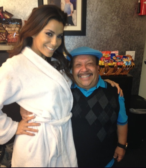 Eva Longoria and Chuy