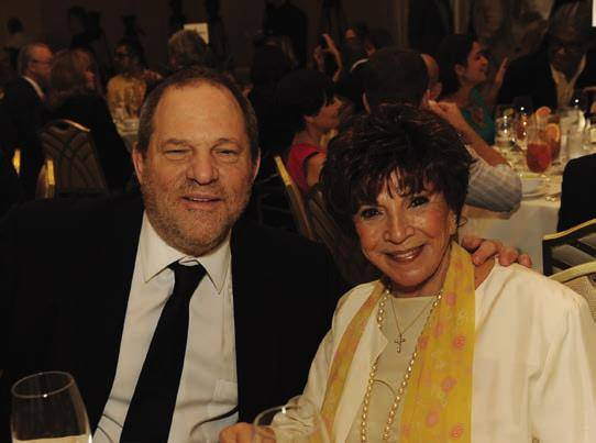 Harvey Weinstein & Dr. Aida Takla-O'Reilly