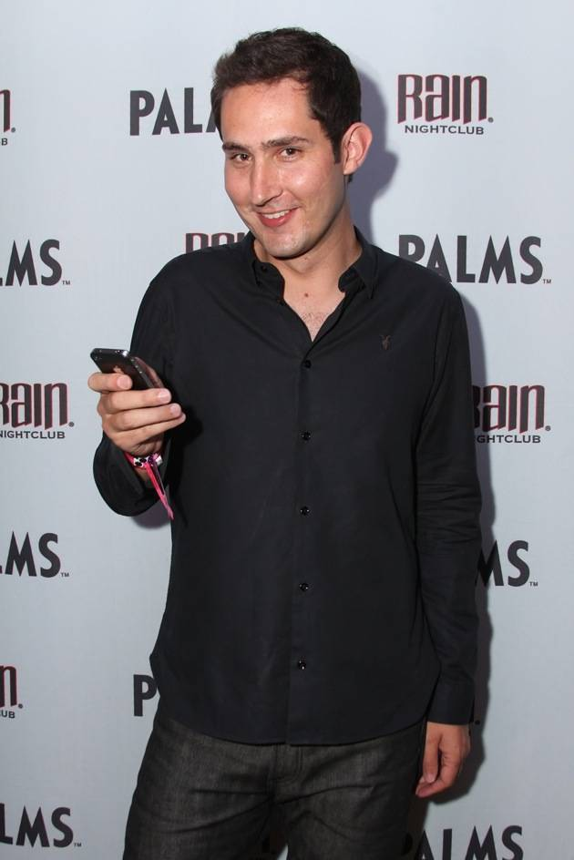 Instagram co-founder and CEO Kevin Systrom at Rain Nightclub.