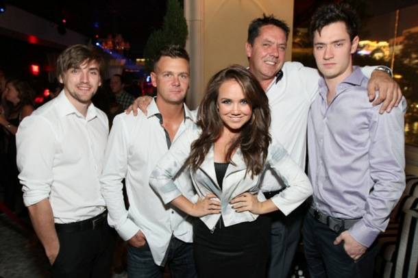 Jenny Veal celebrates 21st at Hyde Bellagio, Las Vegas 9.11.12
