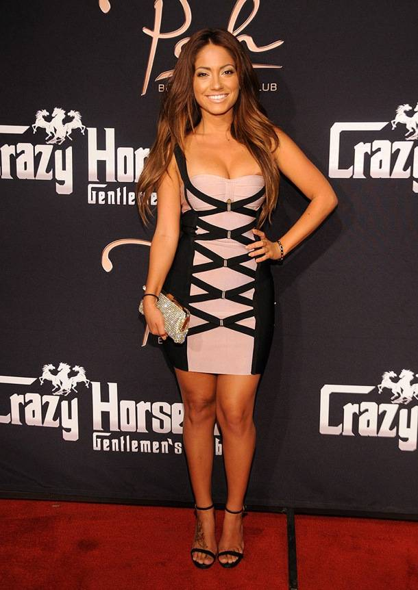 Jessica Burciaga on the red carpet at Crazy Horse III