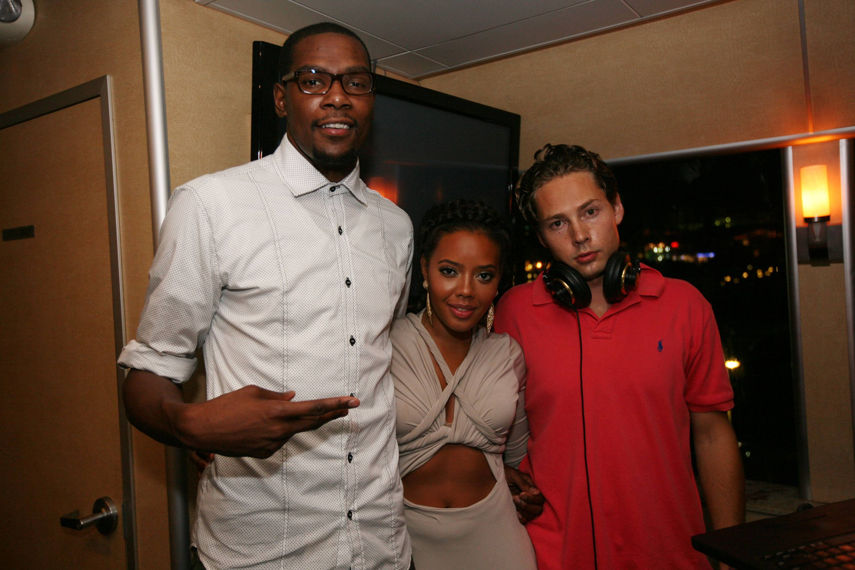 Kevin Durant, Angela Simmons, & Sneaks1