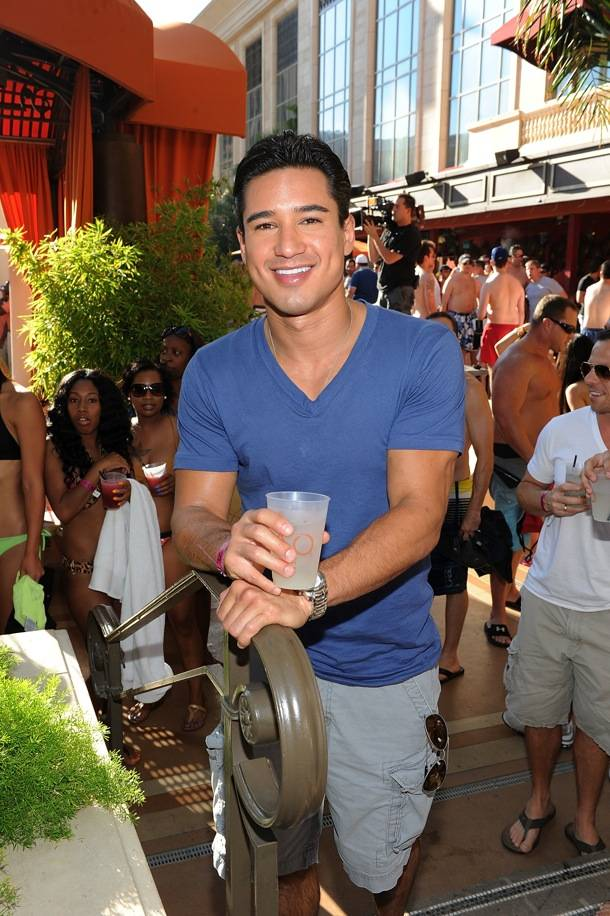 Mario Lopez Celebrates His Bachelor Party At TAO Beach