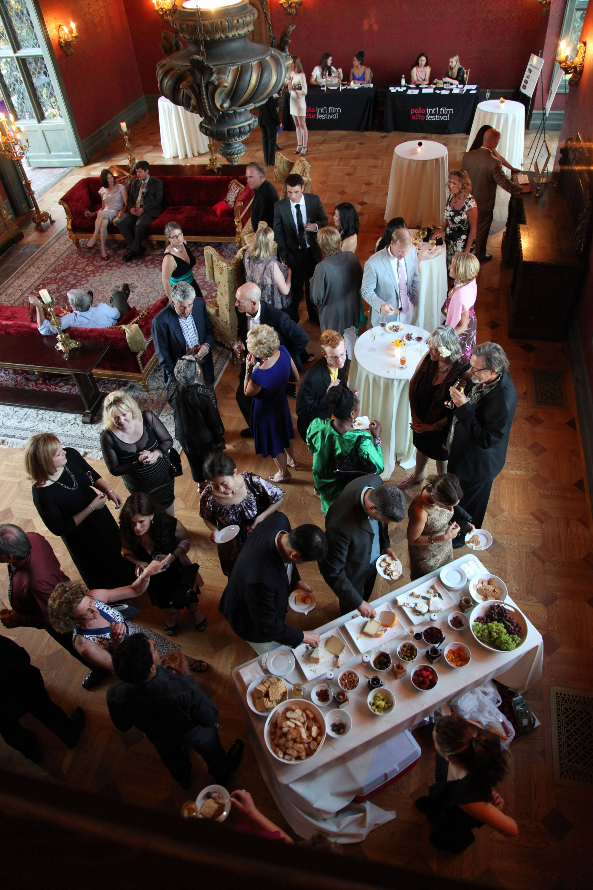 PAIFF Guests Enjoy Joshua Charles Catering