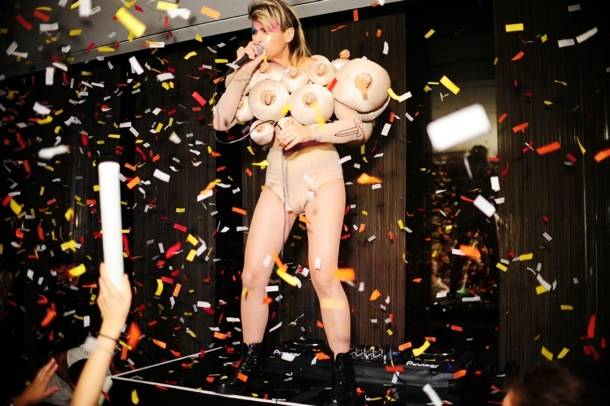 Peaches performs at ghostbar's Snitch in Las Vegas 9.26.12