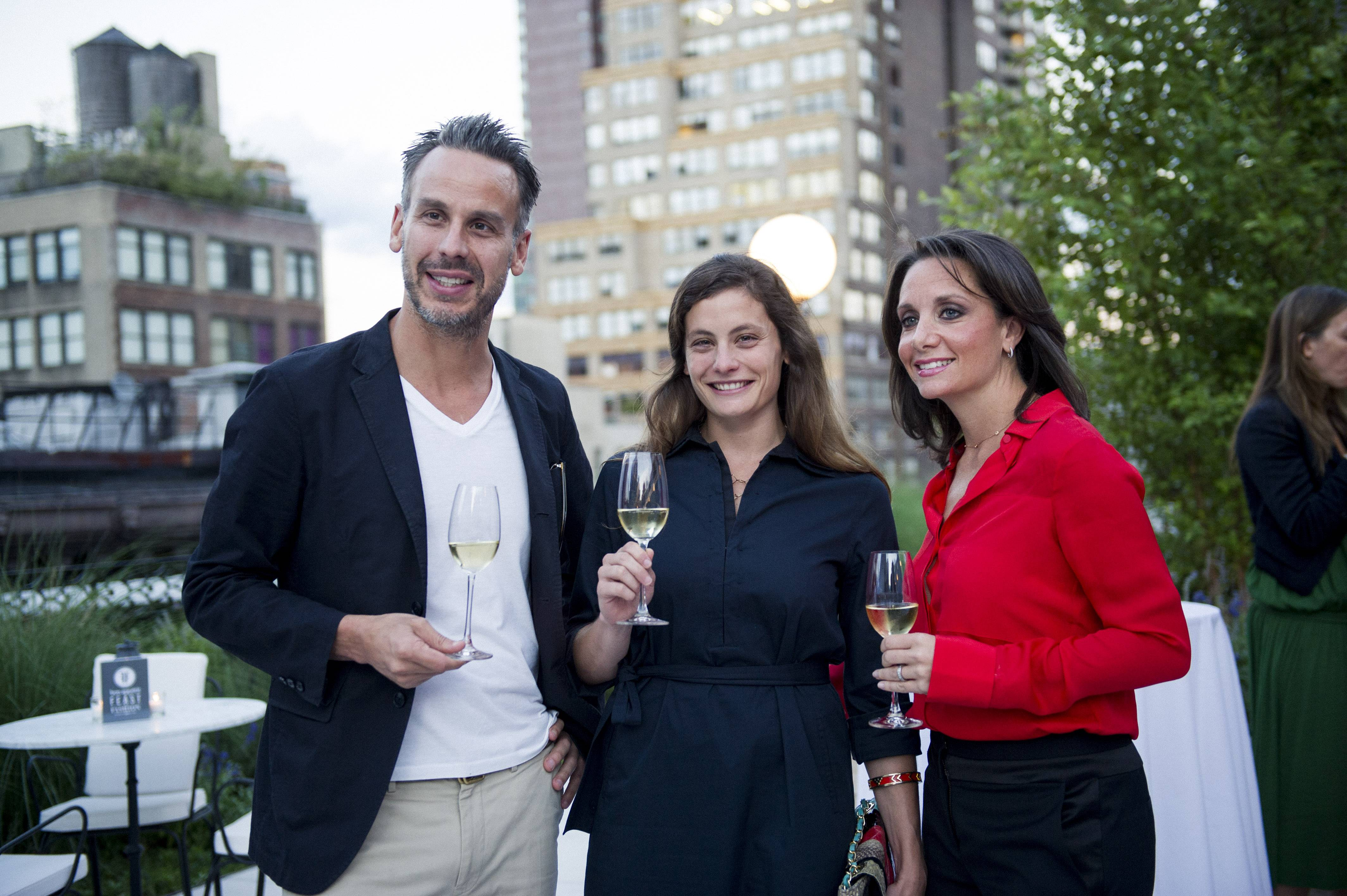 Feast or Fashion Bon Appetit dinner at NoMad Rooftop, co hosted by Adam Rapoport and Rachel Roy for New York Fashion Week