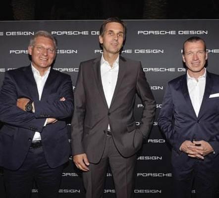 Roland Heiler, Frank Angelkoetter and Juergen Gessler