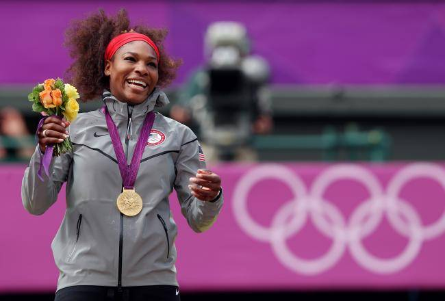 Serena Williams Olympics_Clive Brunskill_Bleacher Report