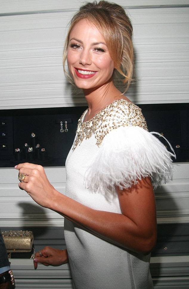Stacy Keibler With Ring