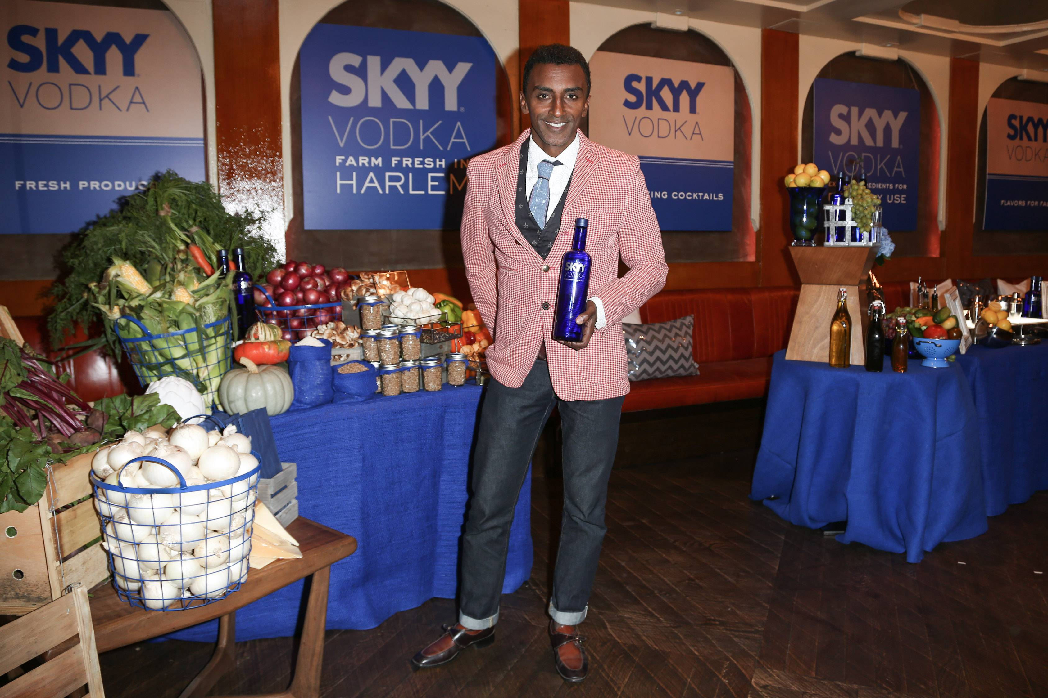 SKYY Vodka Presents Captivating Cocktails with Marcus Samuelsson