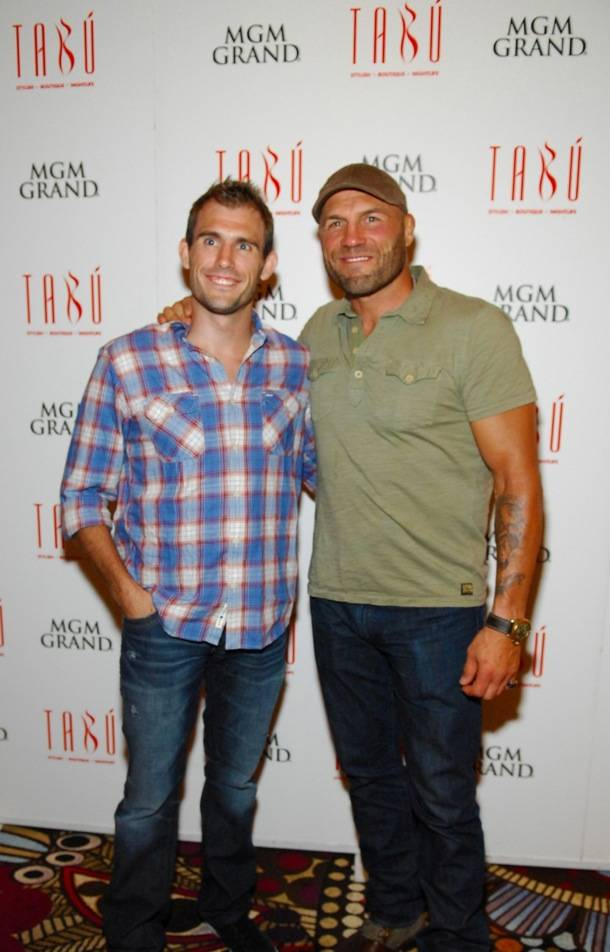 Tabú - Ryan Couture on Carpet with Randy Couture - 8.31.12