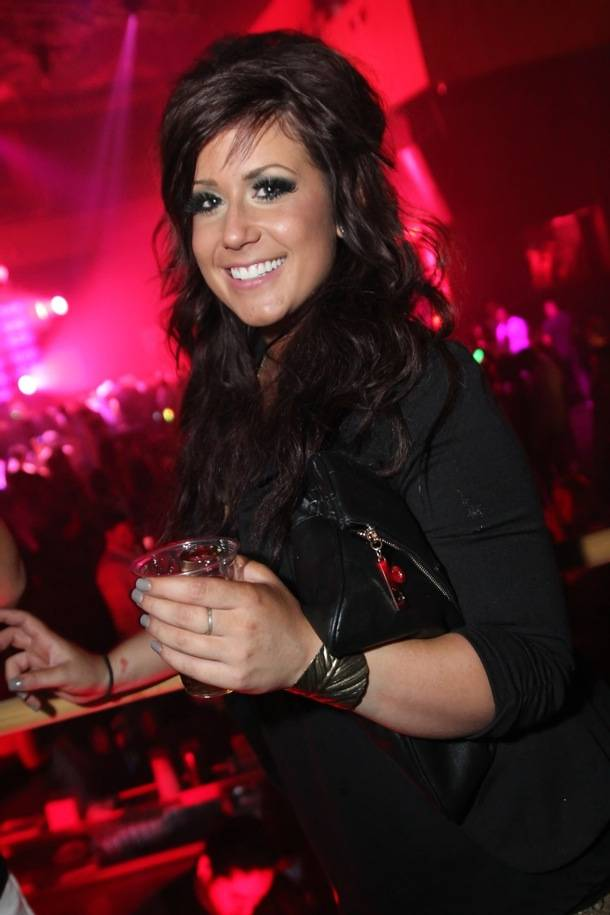 Teen Mom 2's Chelsea Houska at Rain Nightclub in Las Vegas 8.31.12