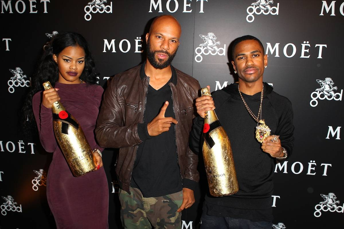 Moet Rose Lounge Los Angeles Hosted By G.O.O.D. Music