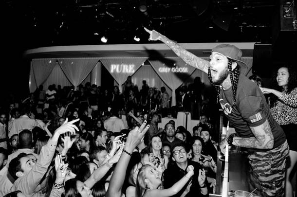 Travie McCoy_Performance 2_PURE Nightclub
