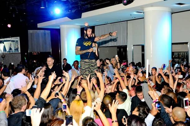 Travie McCoy_With Crowd_PURE Nightclub