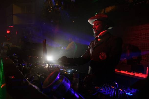 Will.I.Am of the Black Eyed Peas, performs at Marquee Nightclub