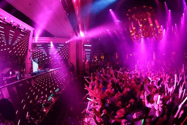 XS Nightclub 9.2.12 - David Guetta Crowd 2