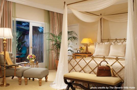 bedroom-Beverlly-hills-hotel