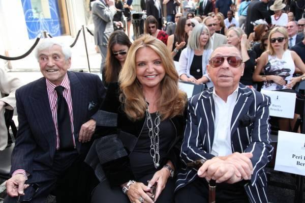 Fred Hayman, Wanda McDaniel, James Galanos