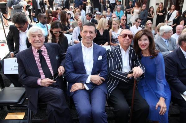 Fred Hayman, Alexander Vreeland, James Galanos, Peri Ellen Berne